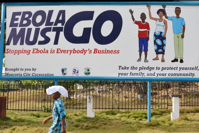 Le Liberia ne compte plus aucun malade de... (PHOTO ZOOM DOSSO, ARCHIVES AFP)