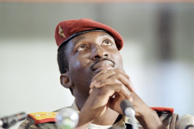 Le président Thomas Sankara a été assassiné en... (PHOTO ARCHIVES AFP)