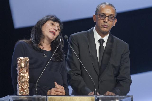Le réalisateur du filmTimbuktu, le Mauritanien Abderrahmane Sissako... (Photo Jacques Brinon, AP)
