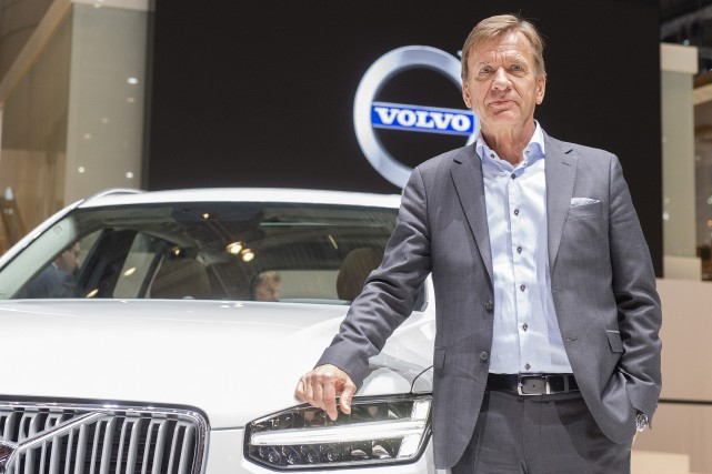 Le PDG de Volvo, Hakan Samuelsson... (PHOTO AP)