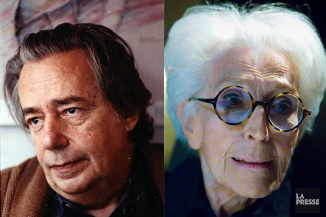 Mordecai Richler et Janine Sutto... (PHOTO ARCHIVES LA PRESSE)