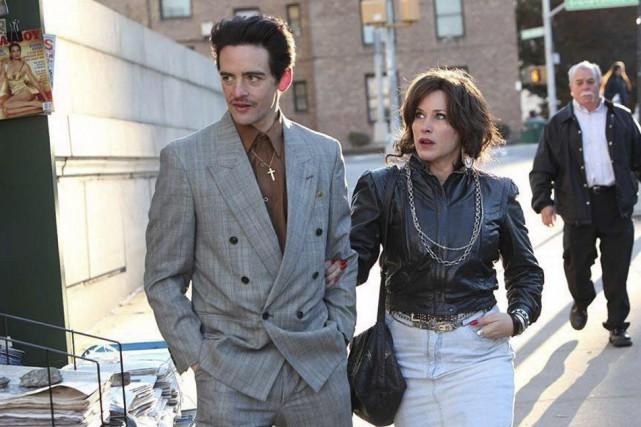 Les acteurs Vincent Piazza et Patricia Arquette dans... (Photo AP/Tribeca Film Festival, Thomas Concordia)