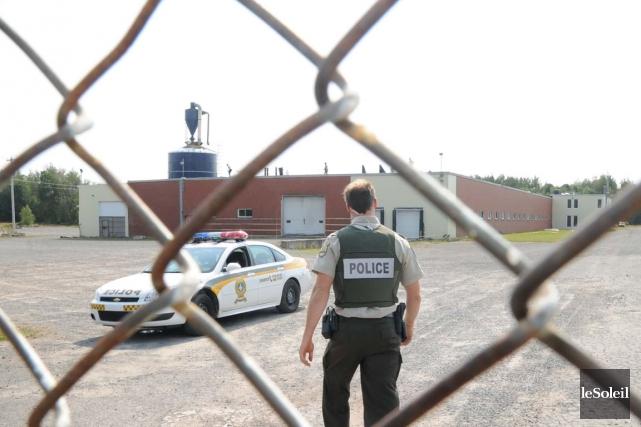 En août 2012, la Sûreté du Québec passait... (Photothèque Le Soleil)