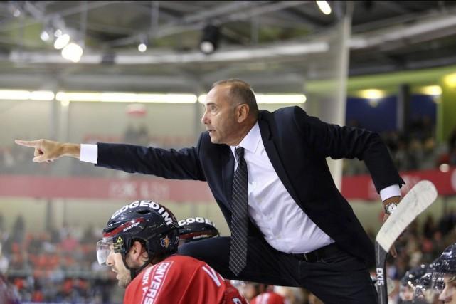 L'ancien entraîneur-chef des Brûleurs de Loups de Grenoble,... ((Photo Fabien Baldino, Brûleurs de loups))