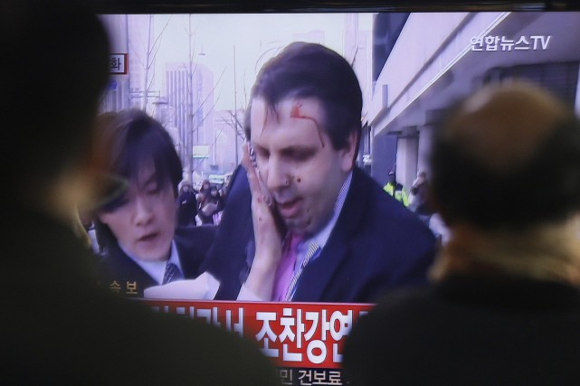 Des éléments commencent à émerger en Corée du... (Photo AP)