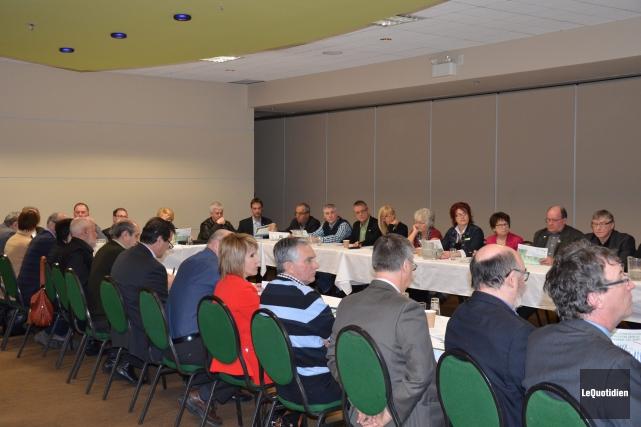 Les entrepreneurs et les élus du Saguenay-Lac-Saint-Jean ne... ((Photo Le Quotidien, Patricia Rainville))