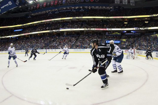 Ben Bishop a réalisé 25 arrêts pendant qu'à l'autre extrémité de la patinoire,... (Photo USA TODAY Sports)