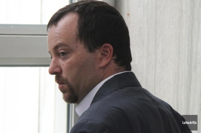 Donald Rajotte a été condamné à trois ans... (photo archives La Voix de l'Est)