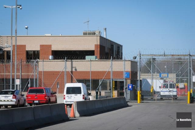 La prison de Trois-Rivières aurait été la cible, jeudi après-midi, d'un appel à... (Photo: François Gervais Le Nouvelliste)