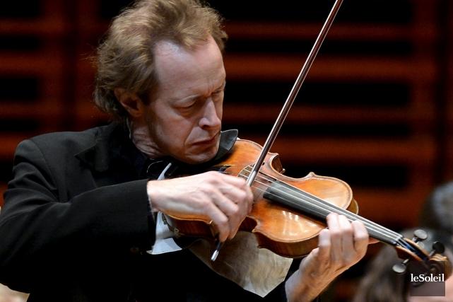 Dans le Concerto en ré majeur, on aurait... (Le Soleil, Erick Labbé)