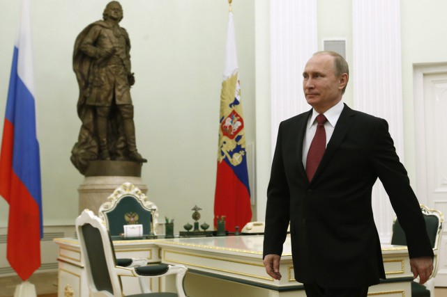 Le président russe Vladimir Poutine.... (PHOTO SERGEI KARPUKHIN, REUTERS)