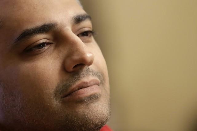 S'il pouvait parler à Stephen Harper, Mohammed Fahmy... (PHOTO HASSAN AMAR, ARCHIVES AP)