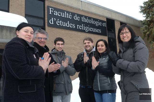 Rachel Genest, Pierre Mailloux, Loïc Brurat-Naulleau, Emmanuel Cotton,... (IMACOM, MAXIME PICARD)