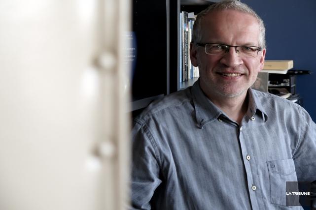David Sénéchal, professeur au département de physique de... (IMACOM, RENÉ MARQUIS)