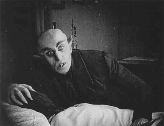 Max Schreck dans le rôle du comte Orlok...