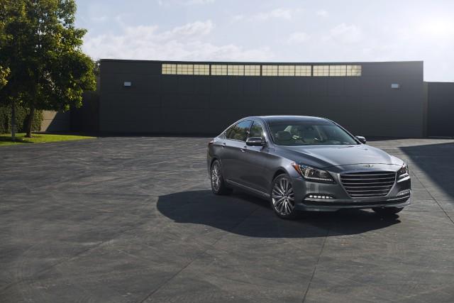 Le rappel concerne la Hyundai Genesis 2015... (PHOTO FOURNIE PAR HYUNDAI)