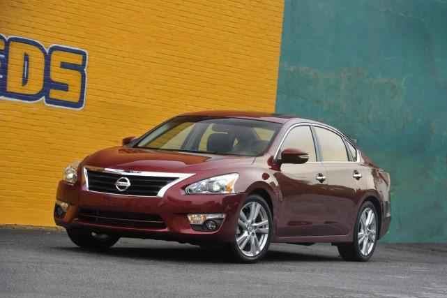 La Nissan Altima est le dernier modèle à... (PHOTO FOURNIE PAR NISSAN)