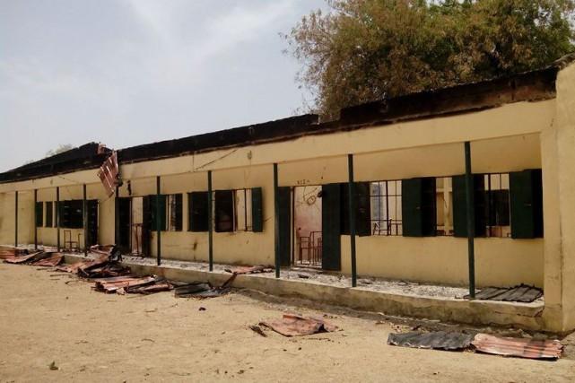 Sur la photo, l'école de Chibok d'oùBoko Haram... (PHOTO AFP / STRINGER)