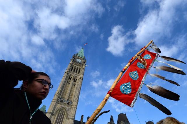 Le représentant spécial du ministre des Affaires autochtones et Développement... (PHOTO ARCHIVES LA PRESSE CANADIENNE)