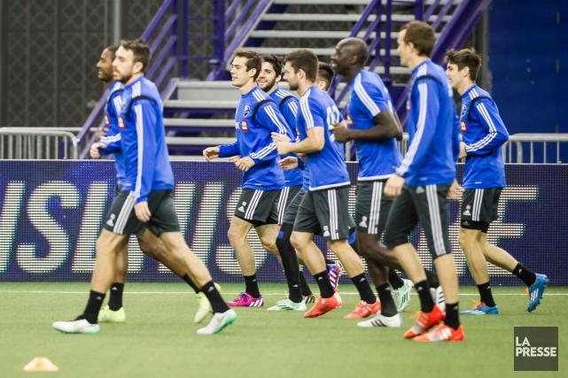 L'Impact amorcera sa saison régulière en MLS contre... (Photo Olivier PontBriand, La Presse)