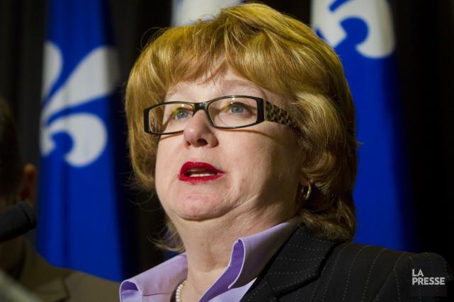 La porte-parole de l'opposition officielle en matière de... (Photothèque La Presse)