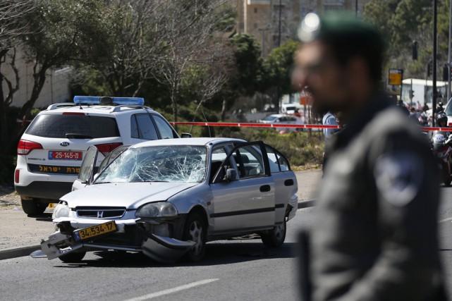 L'attaque s'est produite en pleine fête juive de... (PHOTO AMMAR AWAD, REUTERS)