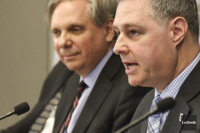 Mark Kristmanson, premier dirigeant de la CCN, aux... (Patrick Woodbury, LeDroit)