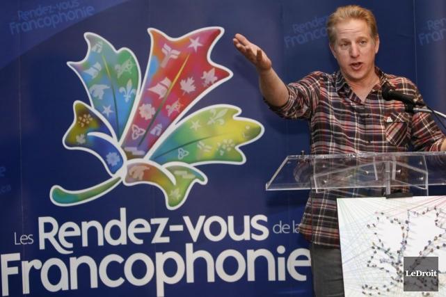 François Massicotte est heureux d'aller à la rencontre... (Simon Séguin-Bertrand, LeDroit)