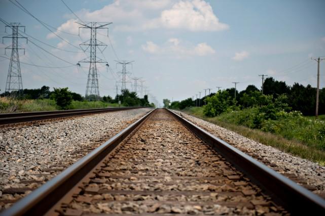 Les exportations canadiennes de pétrole brut par voie ferroviaire aux... (PHOTO ARCHIVES BLOOMBERG)