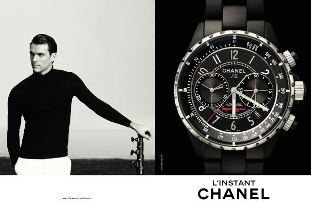 Jean-François Poirier est le nouveau visage de l'Instant... (Photo fournie par Chanel)