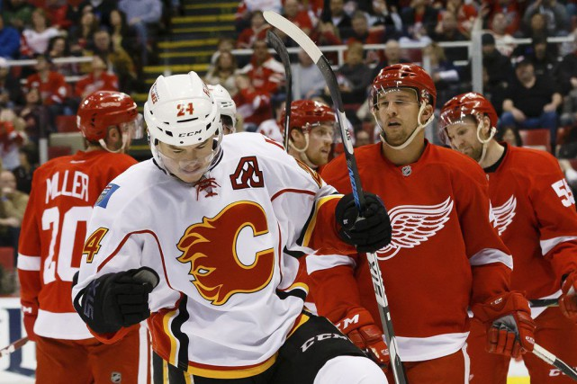 Jiri Hudler... (Photo Rick Osentoski, USA TODAY Sports)