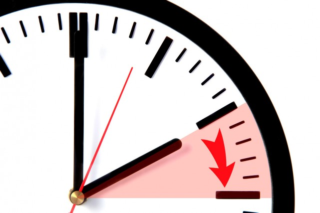 À 2h, il faudra avancer toutes les horloges... (PHOTO SHUTTERSTOCK)