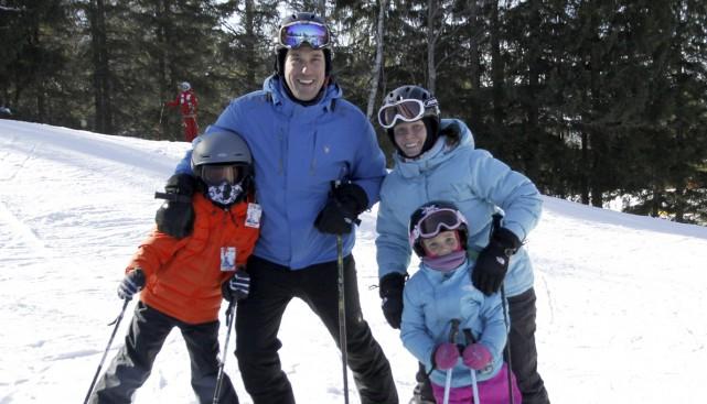 David Pellerin et sa famille ont adoré leur... (Photo Julie Catudal)