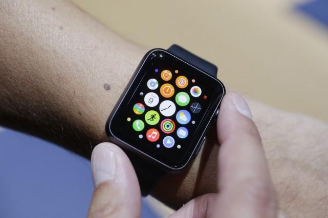 La première version de la Apple Watch avait... (PHOTO ARCHIVES AP)