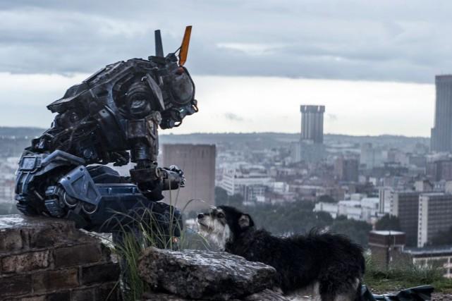 DansChappie, l'idée même qu'un robot puisse avoir une... (Photo Media Films)