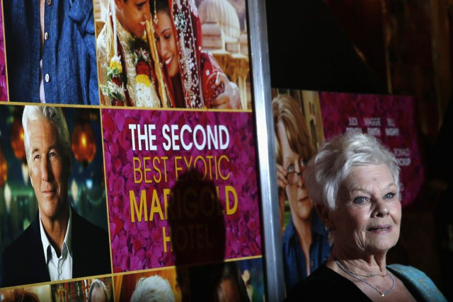 Judi Dench à la première du film The... (PHOTO SHANNON STAPLETON, REUTERS)