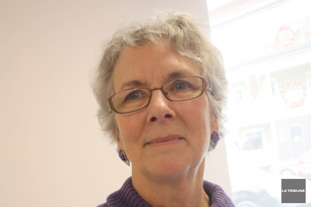 Carol Mooney, présidente du Centre de santé de... (La Tribune, Jean-François Gagnon)