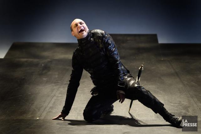 Sébastien Ricard estime que son rôle dansLa nuit... (PHOTO BERNARD BRAULT, LA PRESSE)