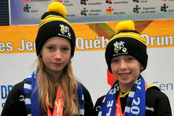 Sarah Pimparé a remporté la médaille d'or en... (Collaboration spéciale, Éric Beaupré)