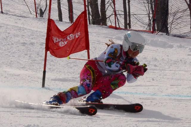 La Magogoise Sarah-Maude Morin a remporté trois médailles... (Photo fournie)