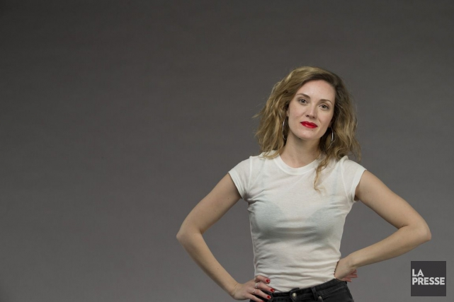 Evelyne Brochu... (PHOTO IVANOH DEMERS, LA PRESSE)