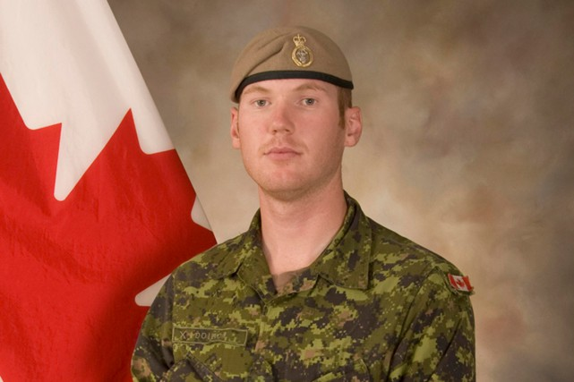Andrew Joseph Doiron... (PHOTO FOURNIE PAR L'ARMÉE CANADIENNE)