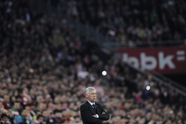 Carlo Ancelotti... (Photo Alvaro Barrientos, AP)