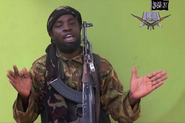Le chef du groupe islamiste nigérian Boko Haram,... (PHOTO ARCHIVES AP)