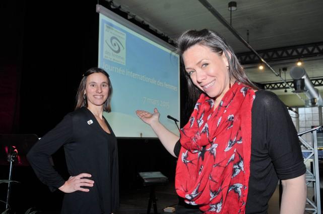 La directrice générale de la Table de concertation... (Photo: Émilie O'Connor)