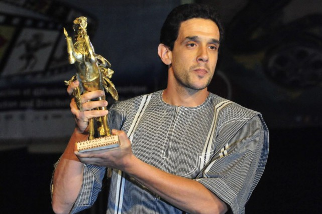 Hicham Ayouch a reçu l'Étalon d'or de Yennenga,... (PHOTO AHMED OUOBA, AFP)
