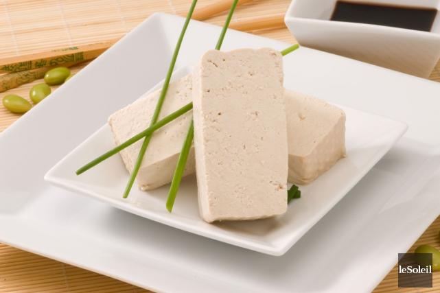Le tofu est un aliment riche en protéines... (Photothèque Le Soleil)