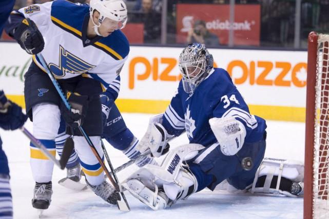 Les Maple Leafs de Toronto ont encaissé une 28e défaite en 35 rencontres, et... (Photo Frank Gunn, La Presse canadienne)