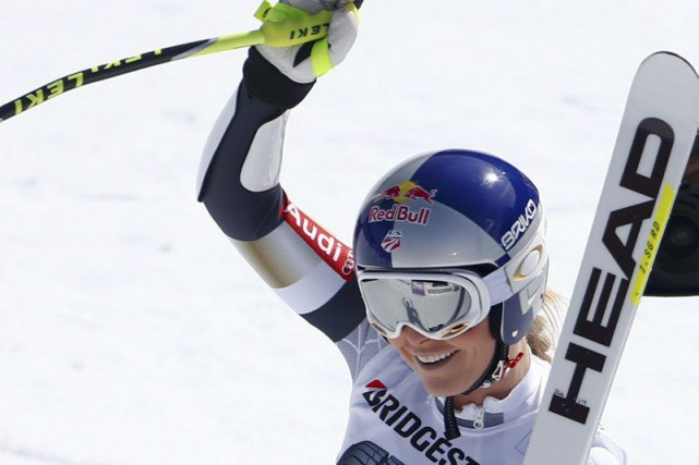 Lindsey Vonn... (PHOTO MICHAEL DALDER, REUTERS)