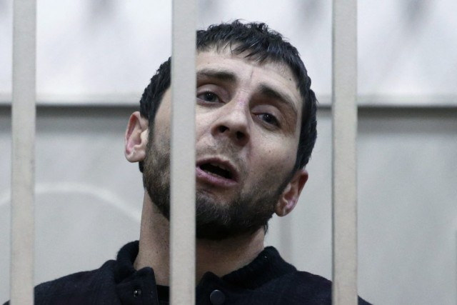 Zaour Dadaïev a été officiellement accusé «du meurtre... (PHOTO TATYANA MAKEYEVA, REUTERS)